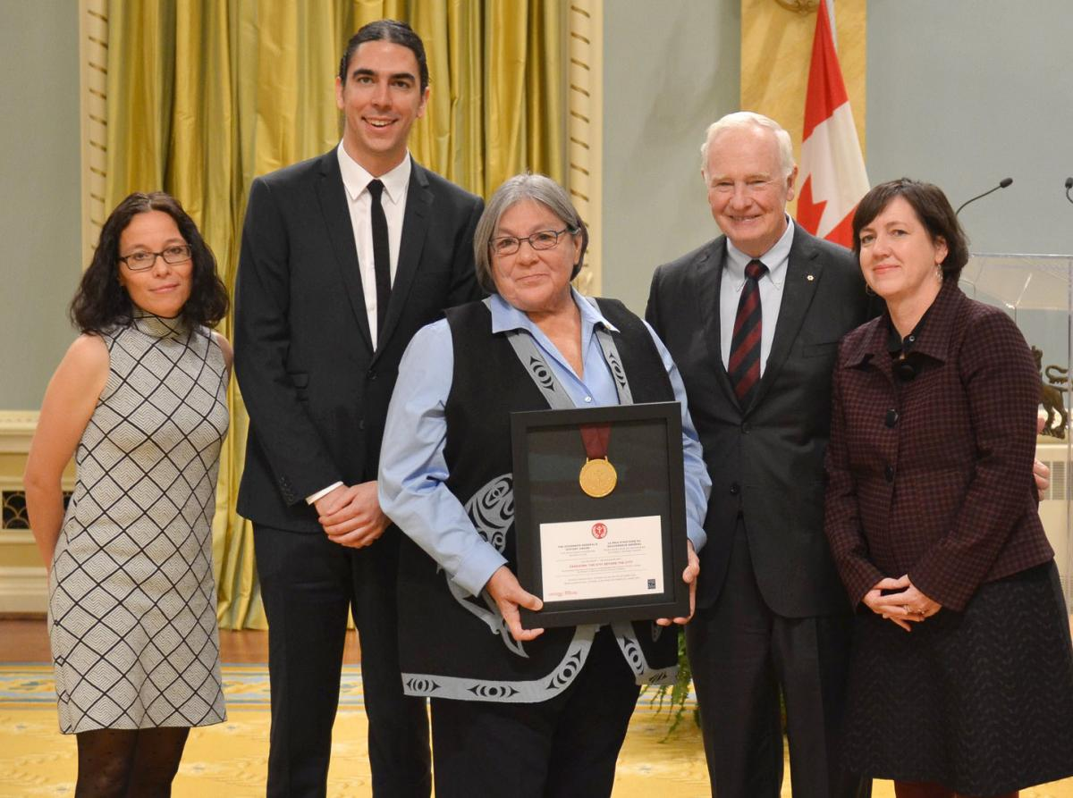 GovernorGeneralAward-RideauHall-Musqueam