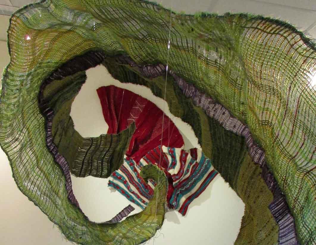 (In)visible Program: Weaving Demonstration