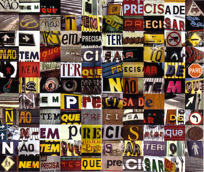 Nao tem que from Nome by Arnaldo Antunes (1993)