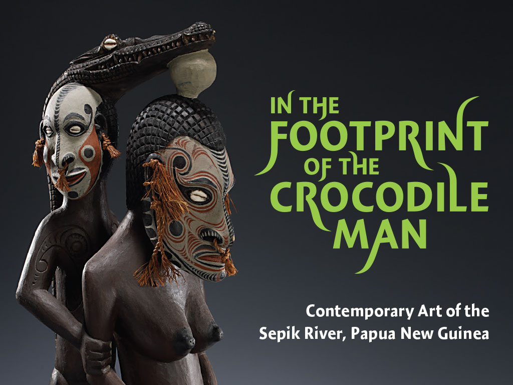 In the Footprint of the Crocodile Man
