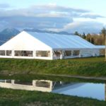 MOA can accommodate a tent up to 25 by 40 metres
