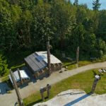 The Haida House can accommodate 40 for dinner or 120 for a reception
